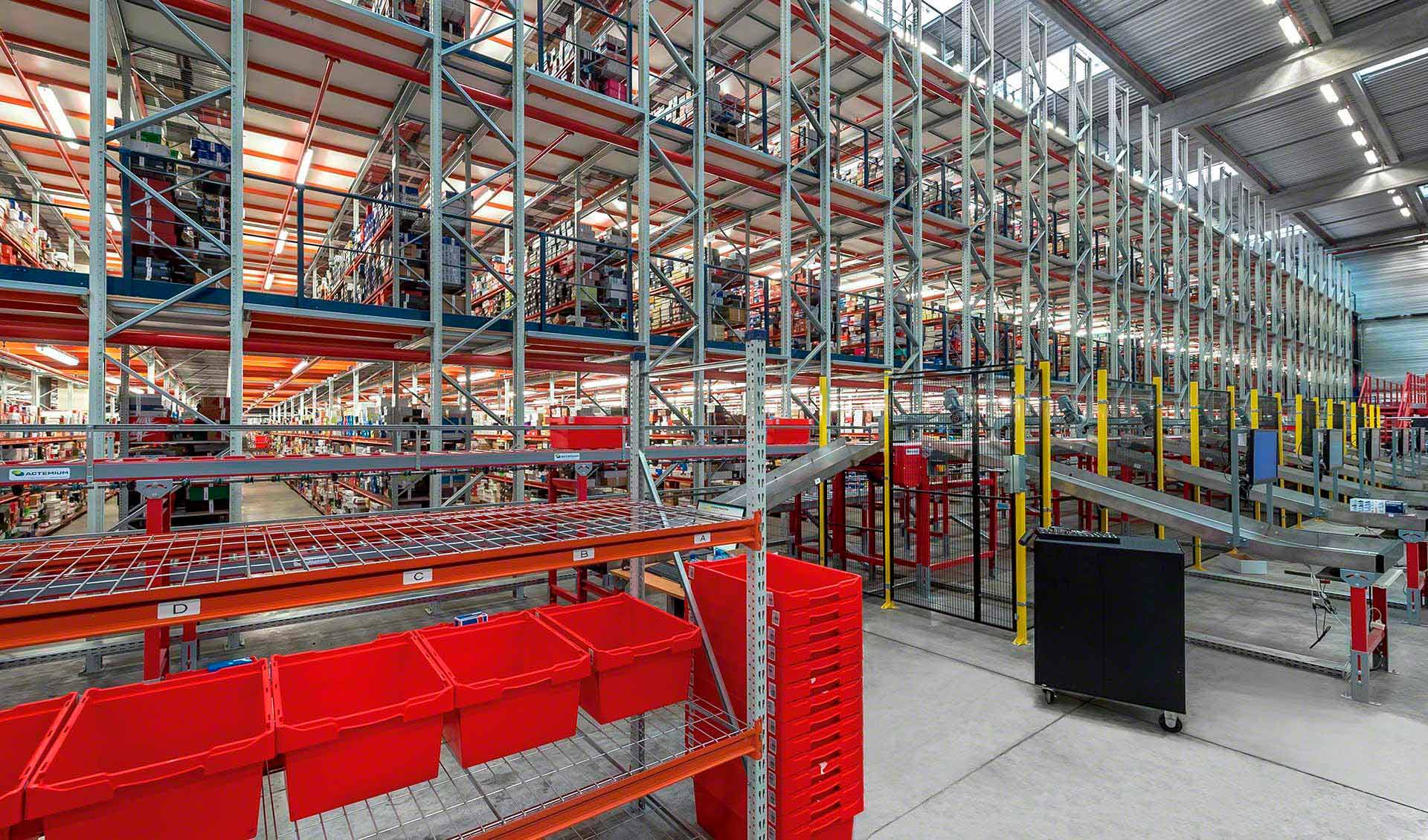 Logistyka e-commerce wymaga odpowiedniej organizacji magazynu