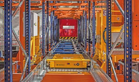Automatyczny Pallet Shuttle