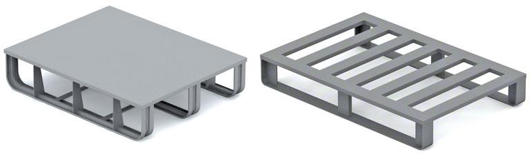 Palety metalowe są stosowane przede wszystkim w przemyśle motoryzacyjnym i w przemyśle hutniczym.
