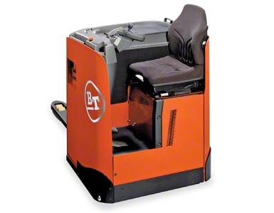 Wózek paletowy elektryczny z siedzeniem