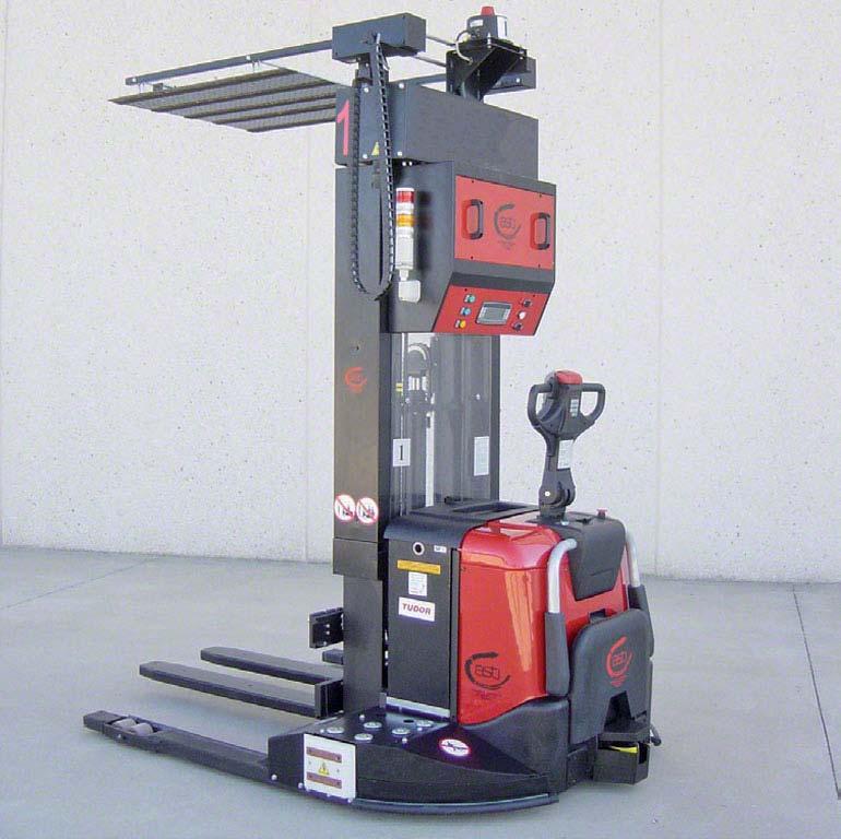 Pojazd sterowany automatycznie (AGV)