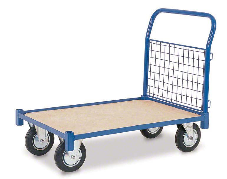 Inne systemy transportowe w magazynie – wózki ręczne. Ilustracja dzięki uprzejmości Rapid Racking