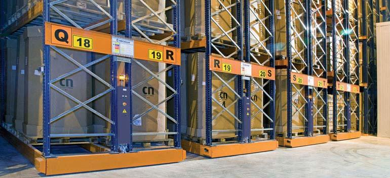 Magazynowanie i dystrybucja produktów mrożonych