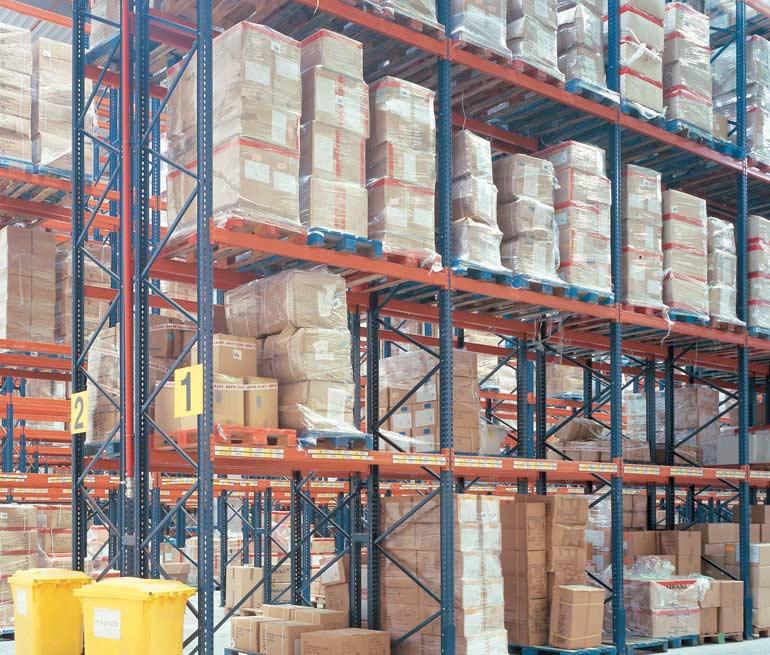 Magazyn logistyczny dystrybucji produktów spożywczych