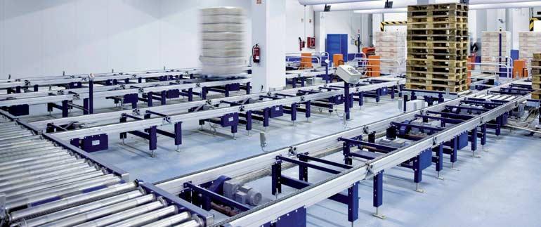 Magazyn firmy prowadzącej produkcję i dystrybucję pieczywa mrożonego oraz ciast i ciastek mrożonych