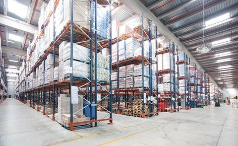 Operator logistyczny Carreras Grupo Logístico zwiększa pojemność magazynową do 48 000palet oraz usprawnia kompletację zamówień dzięki regałom paletowym