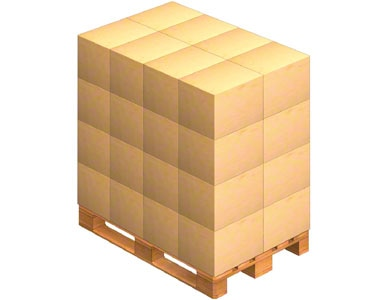 Paleta, na której umieszczane są skrzynie opakowaniowe wysyłane przez dostawcę. Dostawca może także wysyłać towar już wcześniej paletyzowany (na palecie).