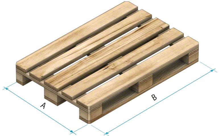 Paleta drewniana typu 1