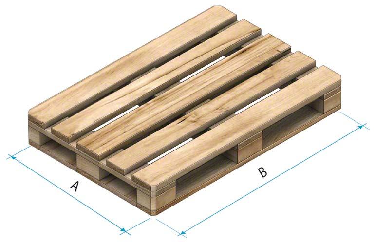 Paleta drewniana typu 2