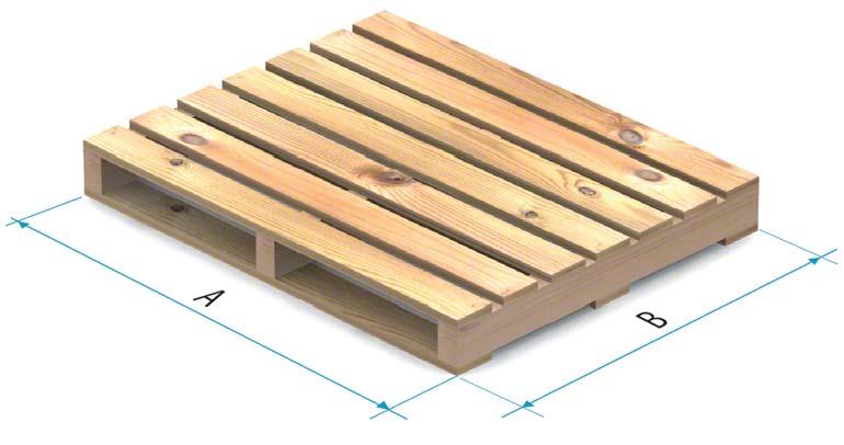 Paleta drewniana typu 3