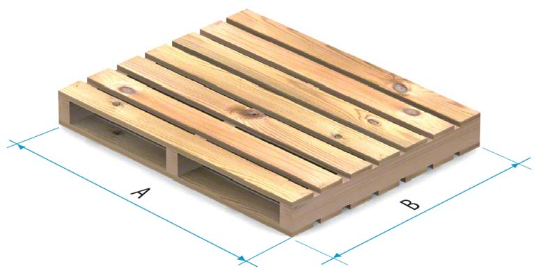 Paleta drewniana typu 4