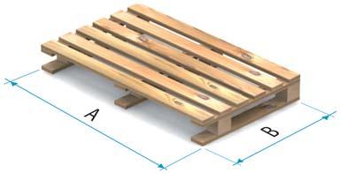 Paleta drewniana typu 5B