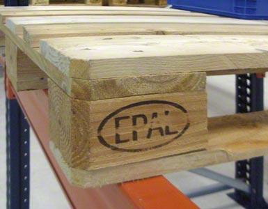 Europaleta jest oznaczana symbolem EPAL