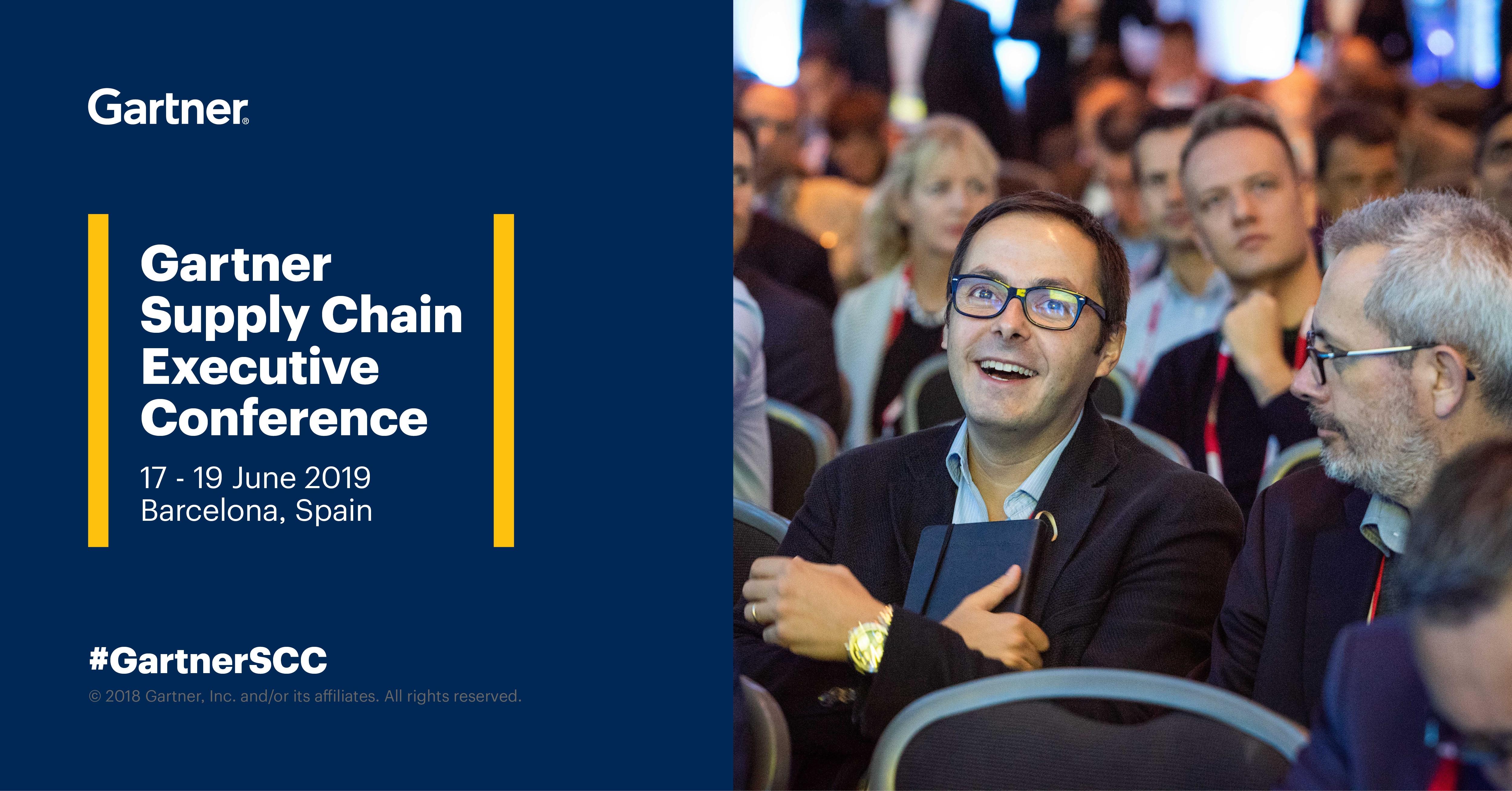 Mecalux weźmie udział w Gartner's Supply Chain Executive Conference 2019 w Barcelonie