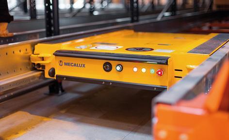 Gémo powierzył firmie Mecalux dostawę i montaż regałów z wózkami Pallet Shuttle