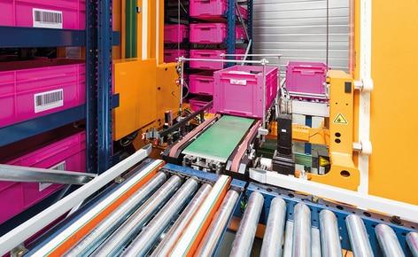 Firma SCD Luisina, producent wyposażenia kuchni i łazienek, buduje w swoim centrum logistycznym we Francji magazyn pojemnikowy miniload do kompletacji ponad 1000 zamówień dziennie