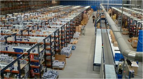 Mecalux optymalizuje proces kompletacji zamówień w magazynie firmy Cofan