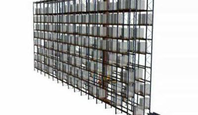 Załadunki jednokolumnowe, układnice paletowe