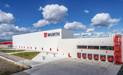 """Automatyczny magazyn samonośny firmy Würth zrealizowany """"pod klucz"""""""
