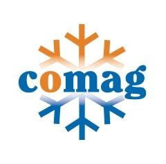 Efektywny i ekonomiczny magazyn firmy Comag do składowania mrożonek