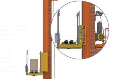 Automatyzacja składowania lakierów samochodowych firmy Bollig & Kemper
