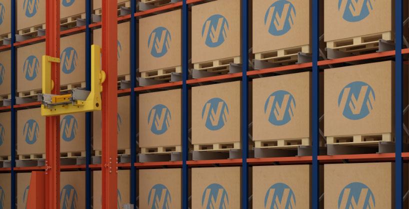 Ribeiros wyposaży swój magazyn w automatyczny system Pallet Shuttle