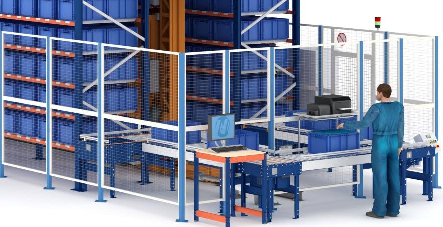 Nowy automatyczny magazyn pojemnikowy dla firmy Airgrup w Hiszpanii