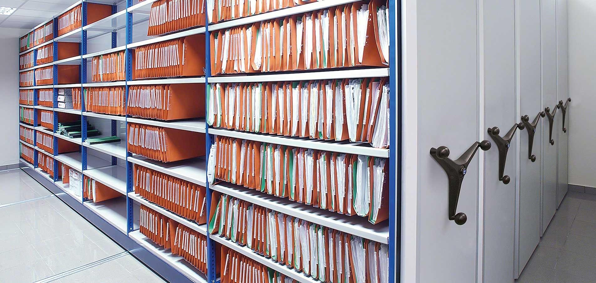 Regały do archiwum Movibloc