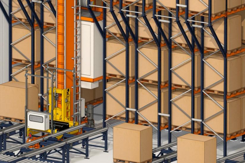 Industrias Yuk uruchomi nowy magazyn do składowania palet i pojemników
