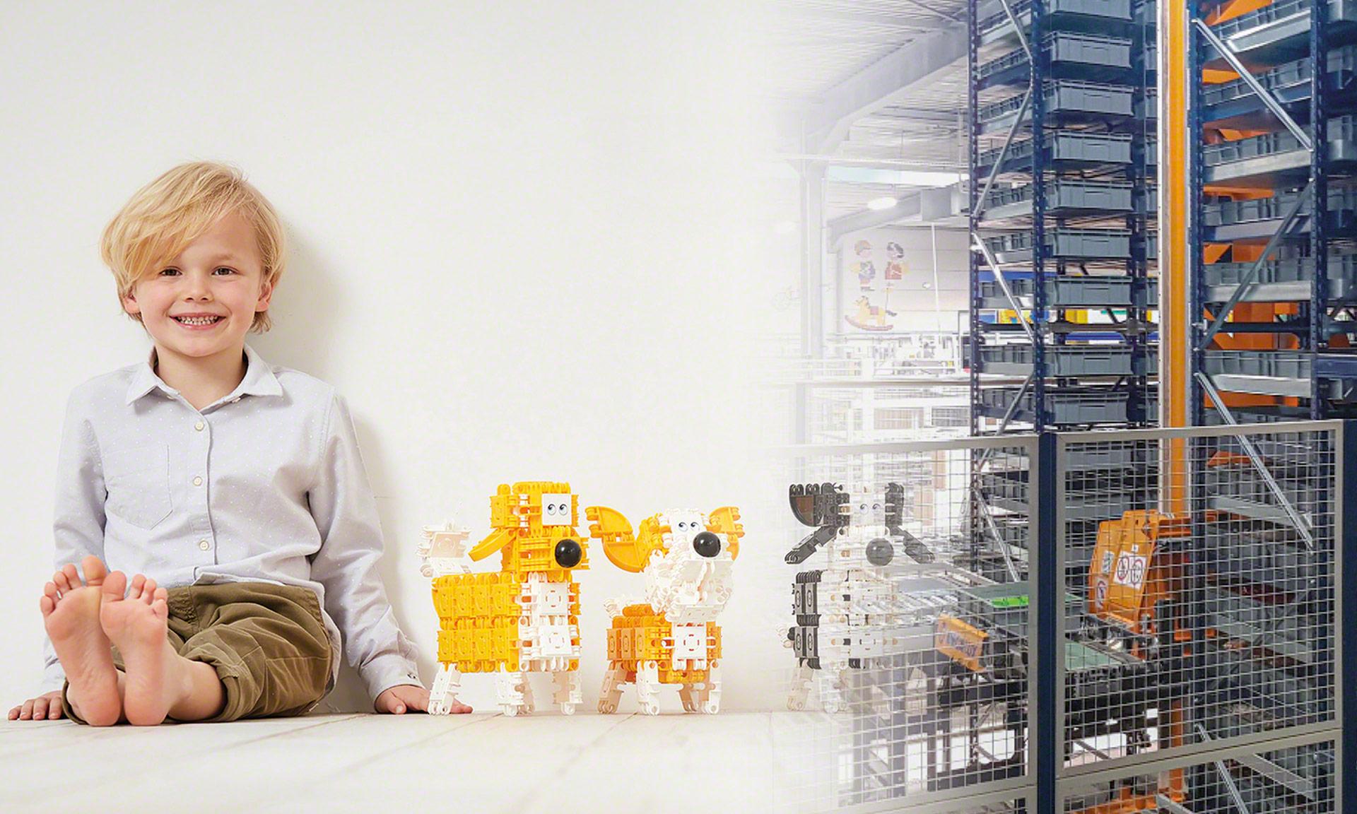 Click Toys: automatyczne składowanie 150 milionów części produkowanych rocznie