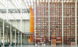 Nowy magazyn ma powierzchnię 7000 m<em>2</em> i może pomieścić ponad 65 000 palet